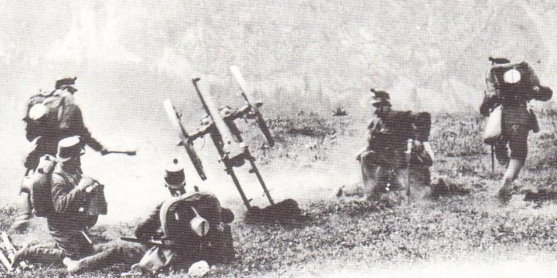 Tir au canon suisse de montagne de 75 mm 1877. Canon-11