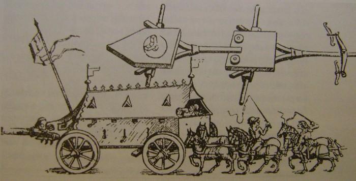 Les prémices des chars de combat. Dsc00712
