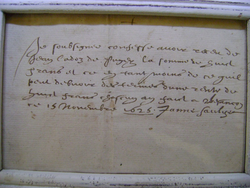 Gravure du siège de Dole en 1637. Dsc01413
