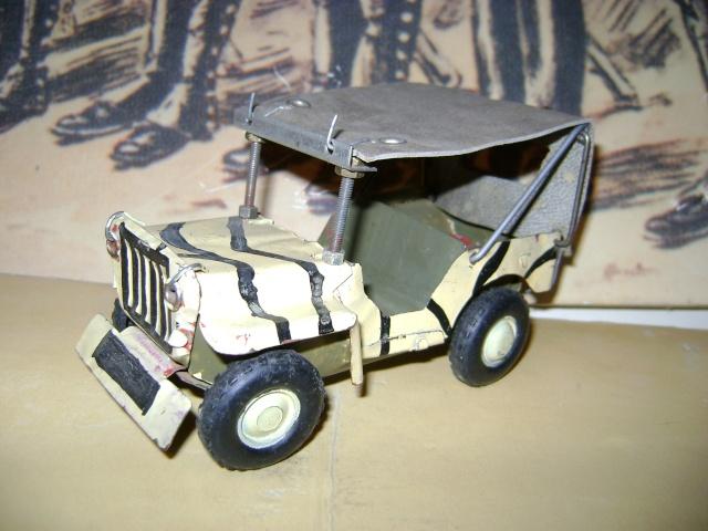 Les jouets militaires en tôle, plastique ou bois. Dsc03647