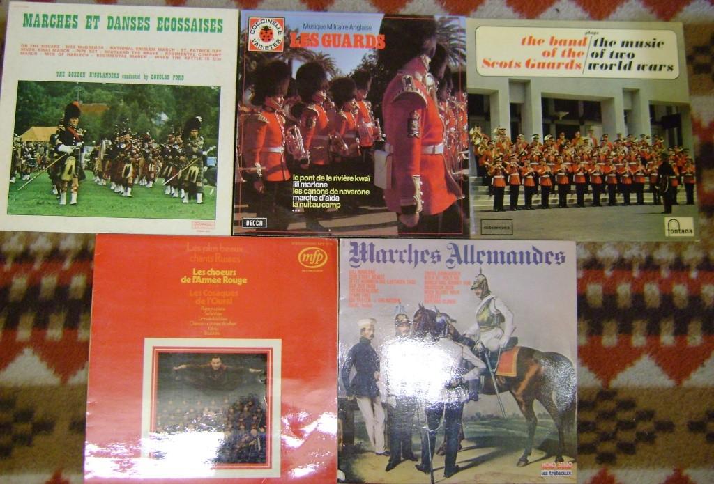 Les disques à thème militaire. Dsc05011