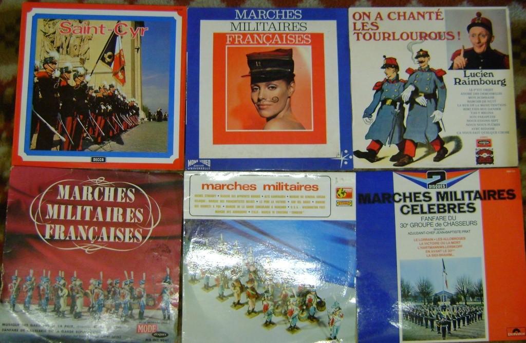 Les disques à thème militaire. Dsc05013