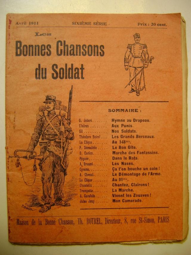 Les recueils de chansons des soldats. Dsc05040