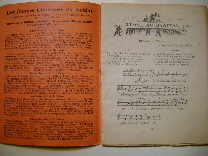 Les recueils de chansons des soldats. Dsc05041