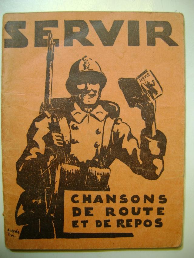 Les recueils de chansons des soldats. Dsc05043