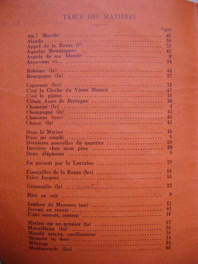 Les recueils de chansons des soldats. Dsc05044