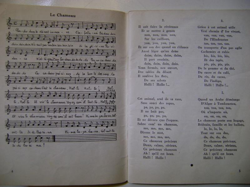 Les recueils de chansons des soldats. Dsc05045