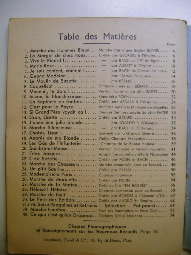Les recueils de chansons des soldats. Dsc05053
