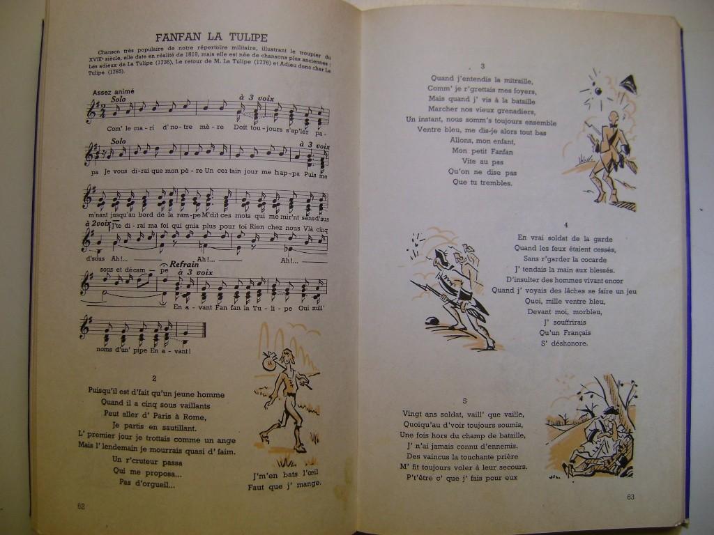 Les recueils de chansons des soldats. Dsc05060