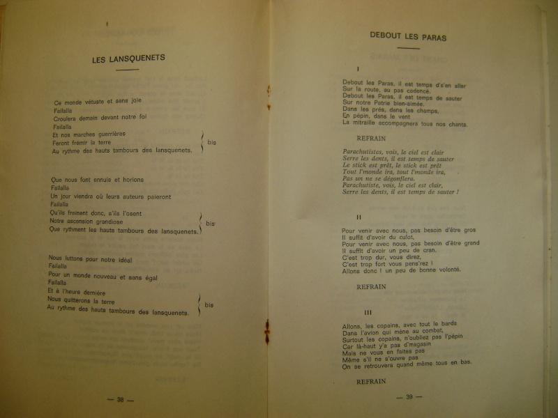 Les recueils de chansons des soldats. Dsc05064