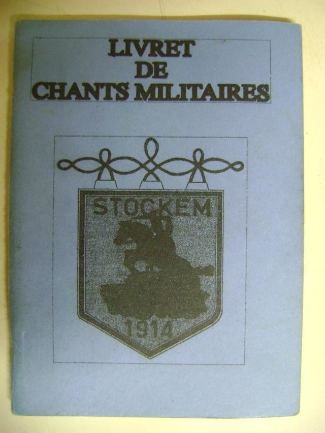 Les recueils de chansons des soldats. Dsc05077