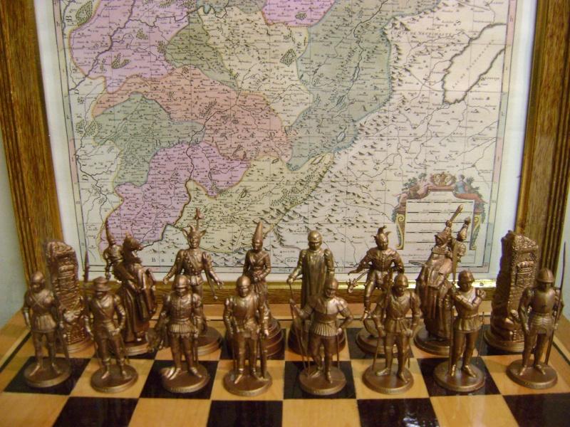 Les figurines anciennes, leurs accessoires et leurs décors. Dsc05149