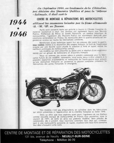 Les motos de l'administration, du HPK 503 à Ratier. Pub-cm10