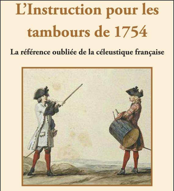 L'Instruction pour les tambours de 1754. Sans_t22