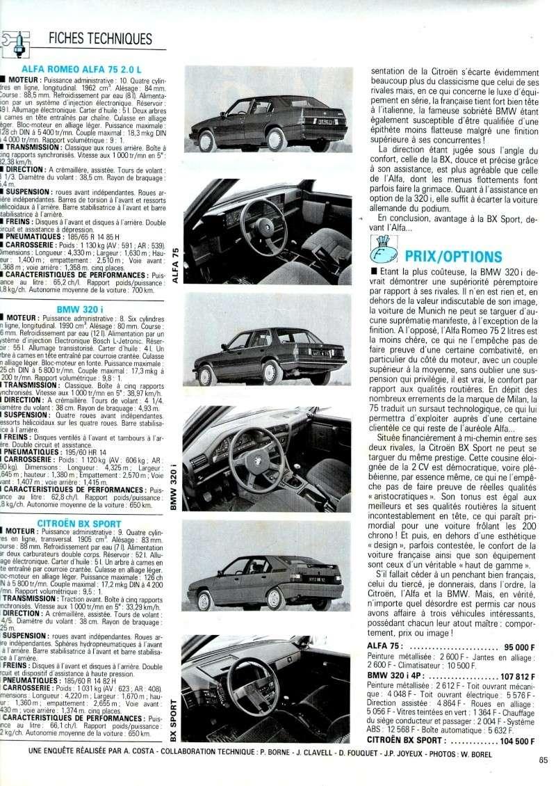 Auto journal du 15/10/85 et du 15/06/85  Img07710