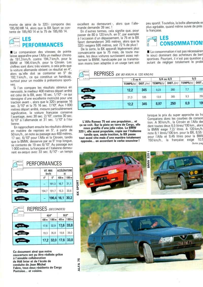 Auto journal du 15/10/85 et du 15/06/85  Img07910