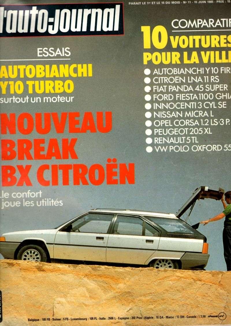 Auto journal du 15/10/85 et du 15/06/85  Img08010