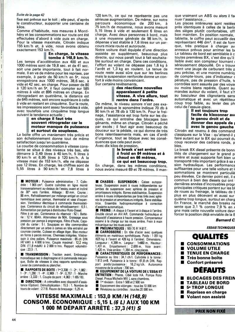 Auto journal du 15/10/85 et du 15/06/85  Img08310