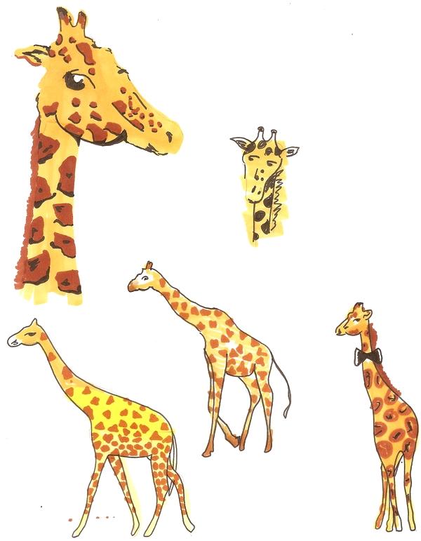Créa De futari Girafe12