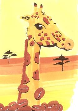 Créa De futari Girafe13