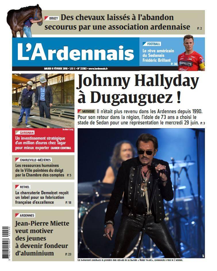 """Tournée 2015/2016 de johnny """"RESTER VIVANT """" Part 2..LA TOURNEE - Page 2 12728910"""