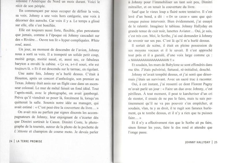 [livre] La terre promise Johnny Hallyday et Philippe Manoeuvre Img00310
