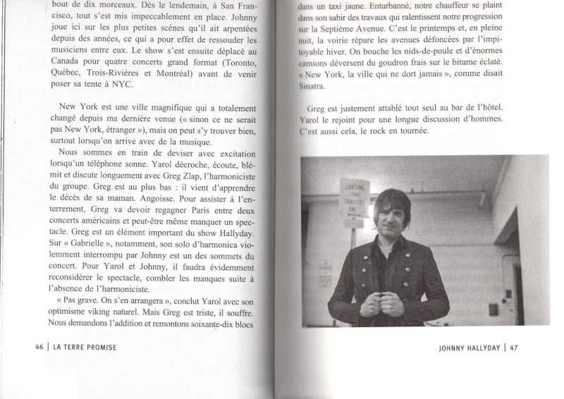 [livre] La terre promise Johnny Hallyday et Philippe Manoeuvre Img01410