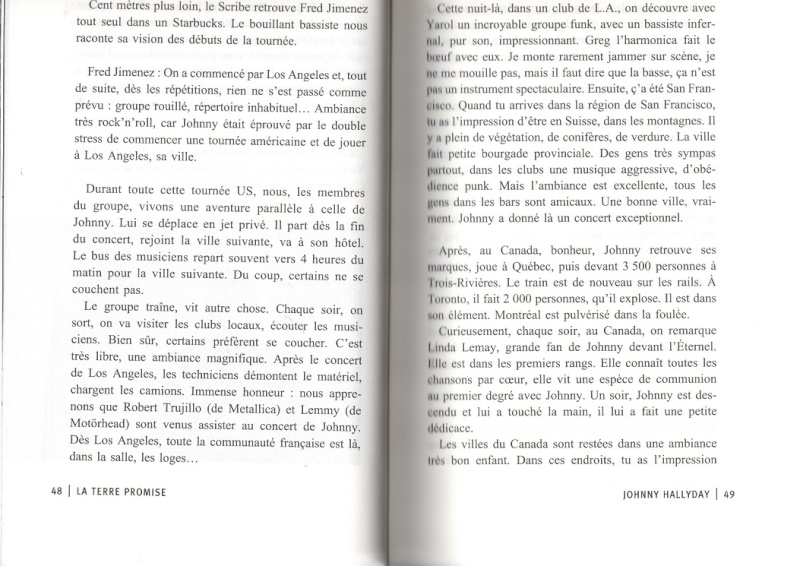 [livre] La terre promise Johnny Hallyday et Philippe Manoeuvre Img01510