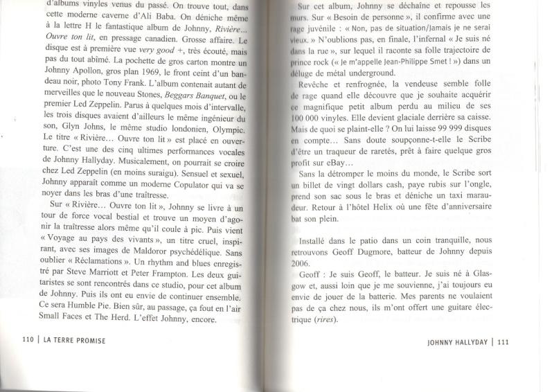 [livre] La terre promise Johnny Hallyday et Philippe Manoeuvre Img04810