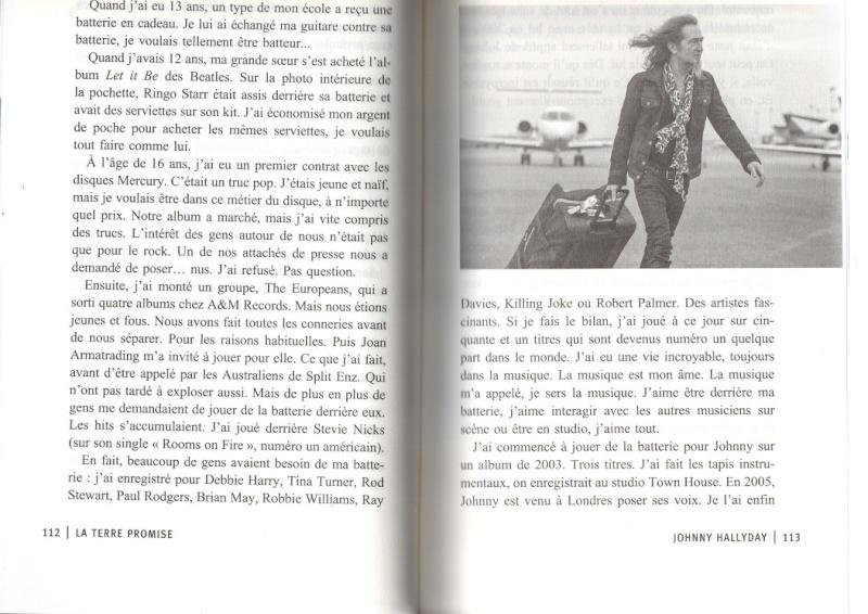 [livre] La terre promise Johnny Hallyday et Philippe Manoeuvre Img04910