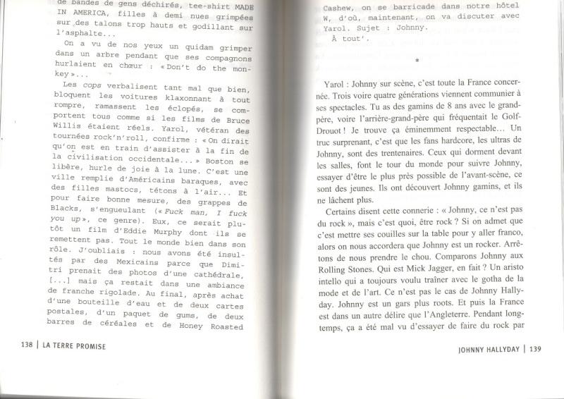 [livre] La terre promise Johnny Hallyday et Philippe Manoeuvre Img10510