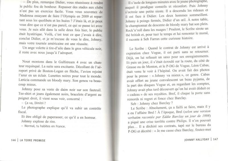 [livre] La terre promise Johnny Hallyday et Philippe Manoeuvre Img11510