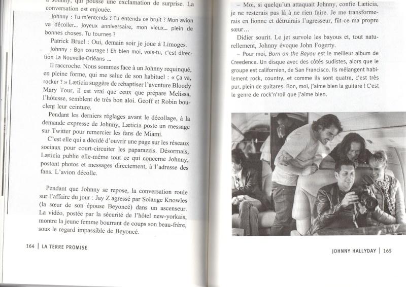 [livre] La terre promise Johnny Hallyday et Philippe Manoeuvre Img13110