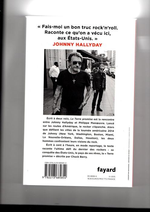 [livre] La terre promise Johnny Hallyday et Philippe Manoeuvre Img99110