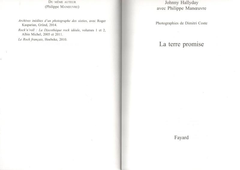 [livre] La terre promise Johnny Hallyday et Philippe Manoeuvre Img99210