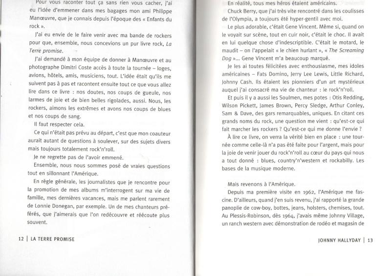 [livre] La terre promise Johnny Hallyday et Philippe Manoeuvre Img99610
