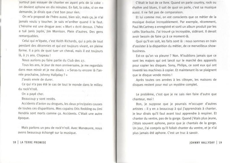 [livre] La terre promise Johnny Hallyday et Philippe Manoeuvre Img99910