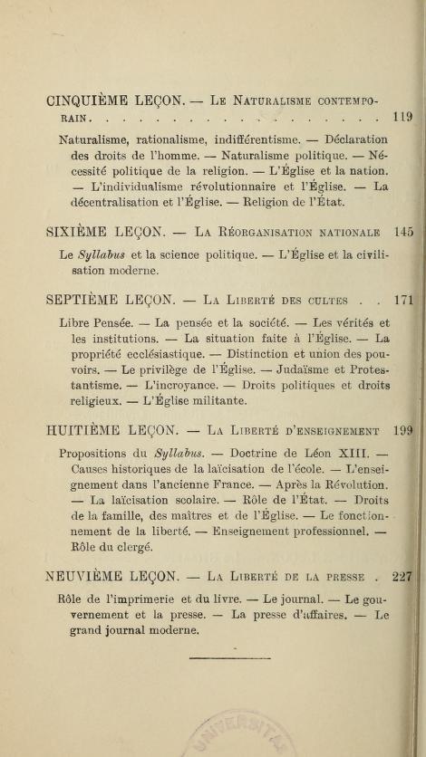LIENS ou SIGNETS de livres catholiques numérisés - Page 34 Leglis11