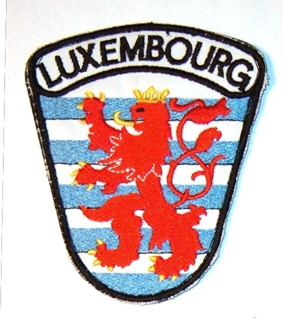 Patches from Luxembourg Lux_na10