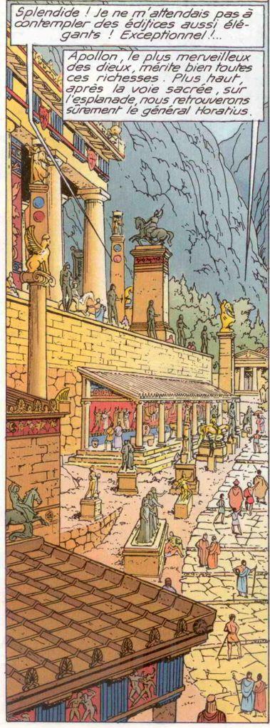 Les Démons de Sparte (Alix Senator 4) - Page 2 Delphe11