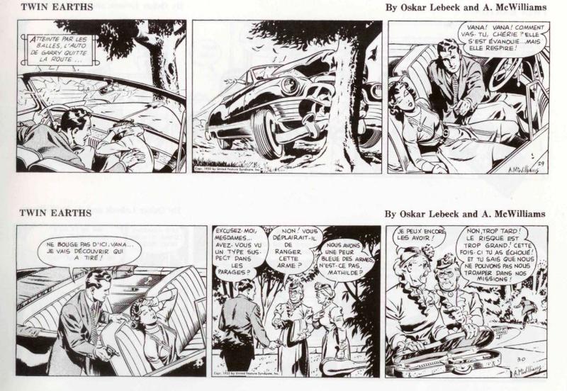 Terres Jumelles par O. Lebeck et Alden McWilliams Strips16