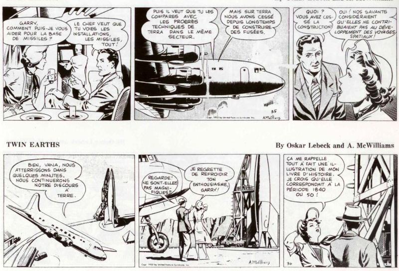 Terres Jumelles par O. Lebeck et Alden McWilliams Strips17