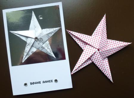 23 novembre : des étoiles ORIGAMI ... 15112910