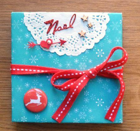 16 novembre : un mini Noël en origami ... Dsc03010