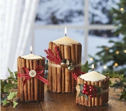 7 décembre : une bougie décorée ... Mariag11