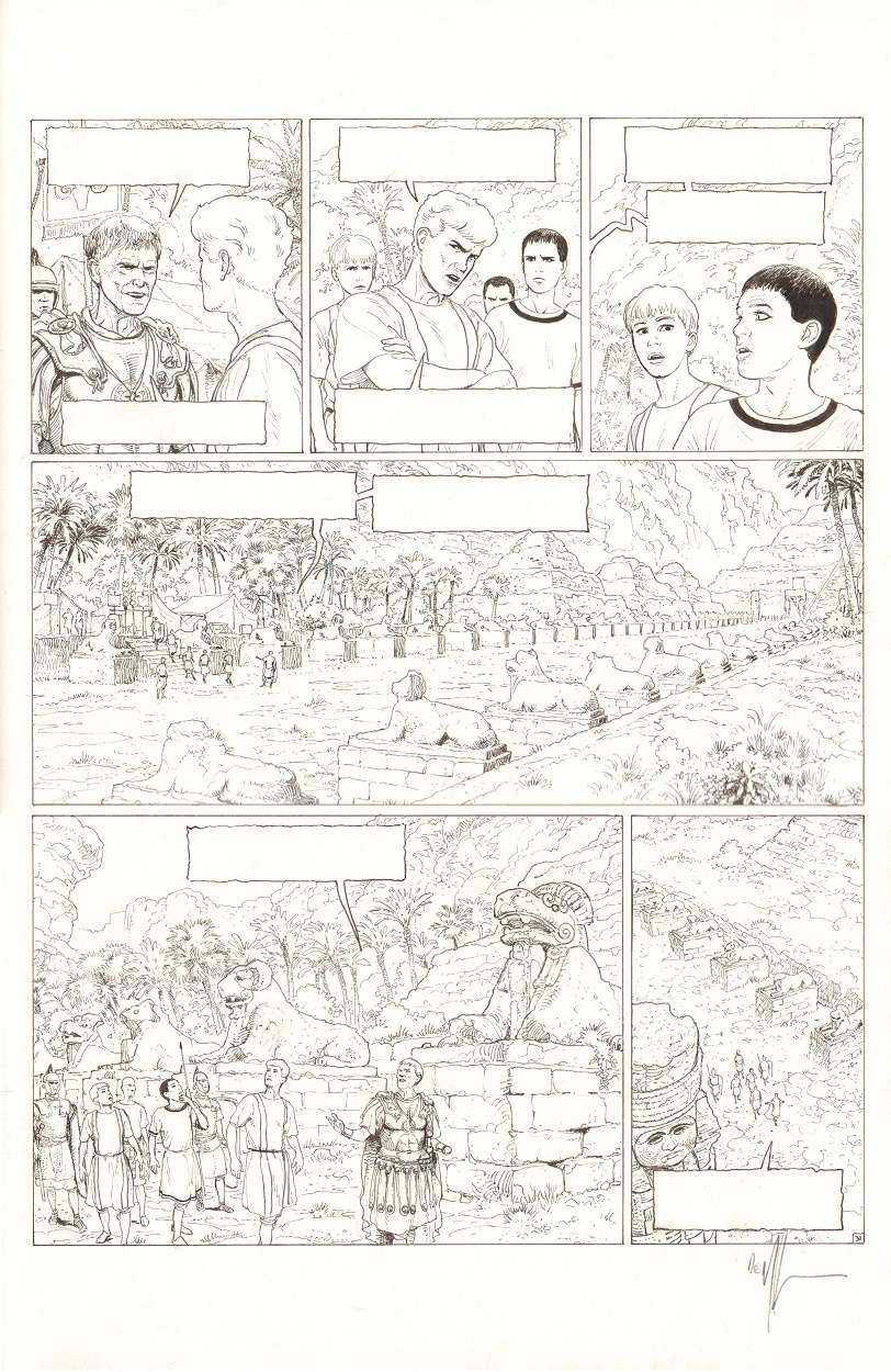 Alix Senator 2 : le dernier pharaon - Page 5 Alix-s11