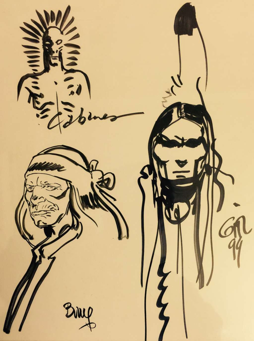Les dessins ou dédicaces à plusieurs mains - Page 2 Giraud17