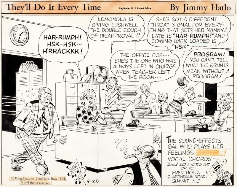 Les contradictions du genre humain ou le génie comique de Jimmy Hatlo - Page 2 Hatlon10