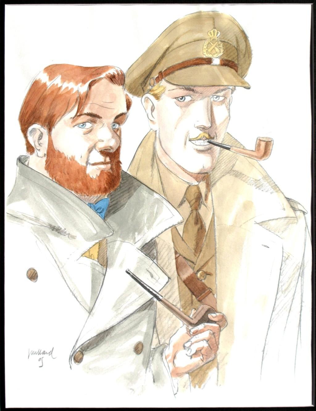 Pleins feux sur Edgar Pierre JACOBS et Blake et Mortimer (2ème partie en cours) - Page 19 Juilla23