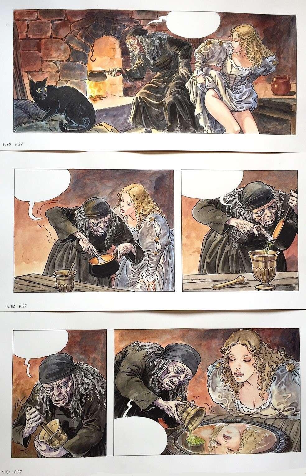 Manara, du côté d'Eros...et d'ailleurs - Page 4 Manara16